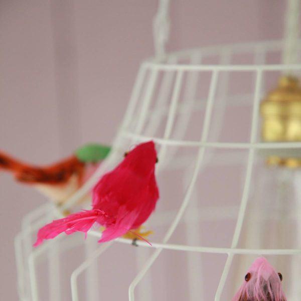hanglamp vogels babykamer